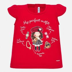 Koszulka krót.rêk. Czerwony