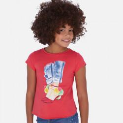 Koszulka k/r nogi Arbuzowy