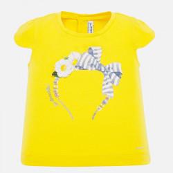 Koszulka krót.ręk. Żółty