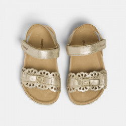 Sandałki bio Złoty