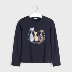 Koszulka d/r koty /futerko...