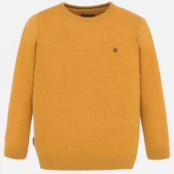 Sweter bawełna Karmel
