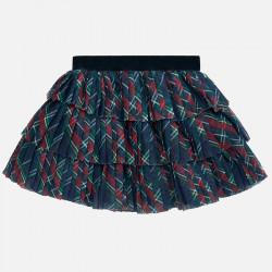 Spódnica tiul plisowana Kratka