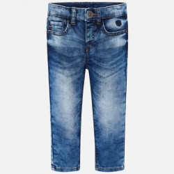 Spodnie soft denim Basic