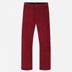 Spodnie klasyczne nadruk...