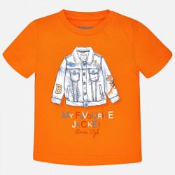 Koszulka k/r nadruk tygrys