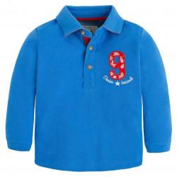 Koszulka polo d/r niebieski