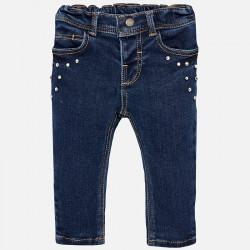 Spodnie długie soft denim...