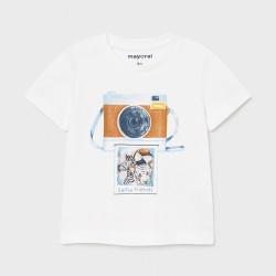 Koszulka k/r Biały