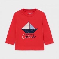 Koszulka d/r łódka Cyber red