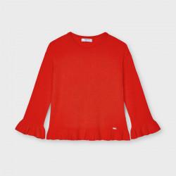 Sweter z falbanką Persymon