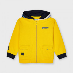 Bluza kaptur łączona Zółty