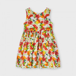 Sukienka nadruk Persymon