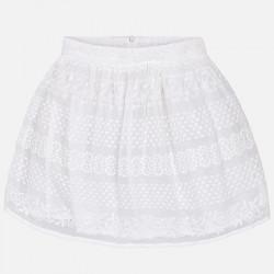 Spódnica szyfon haft