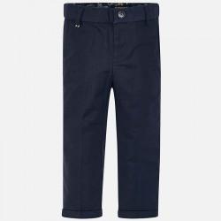 Spodnie lniane tailoring