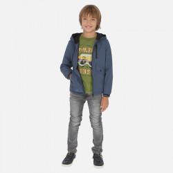 Spodnie jeans soft denim Szary